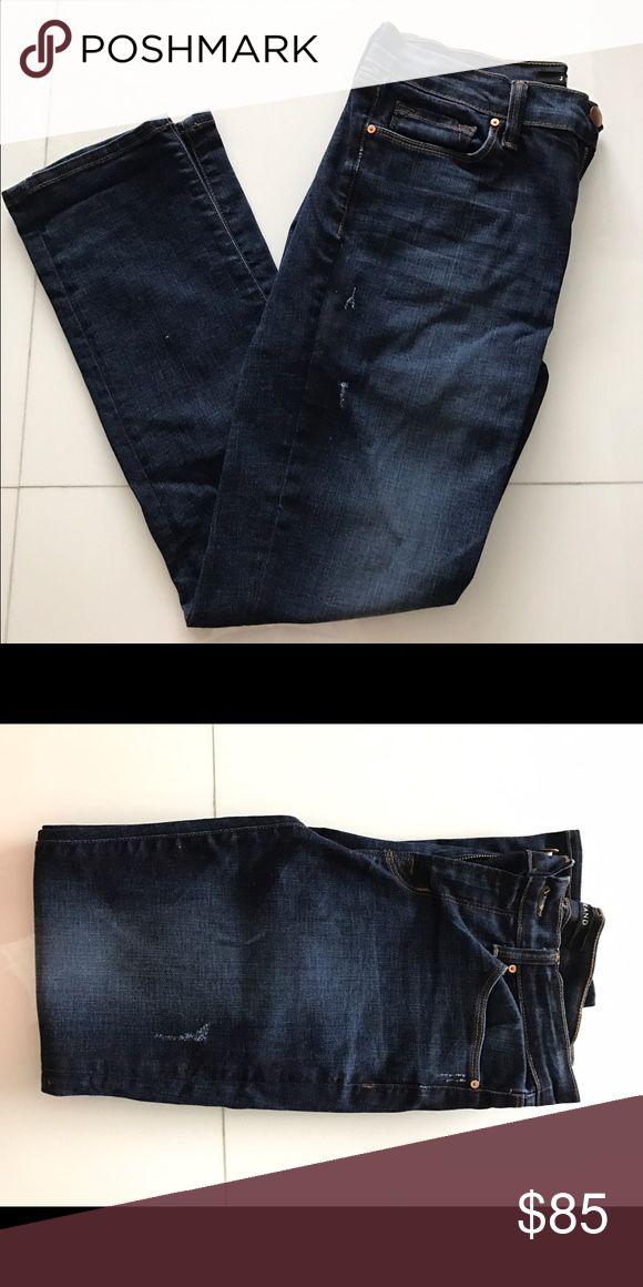 "J Brand cropped rail denim Cropped Rail medium wash J Brand. ""Heart Breaker"" J Brand Jeans Straight Leg"