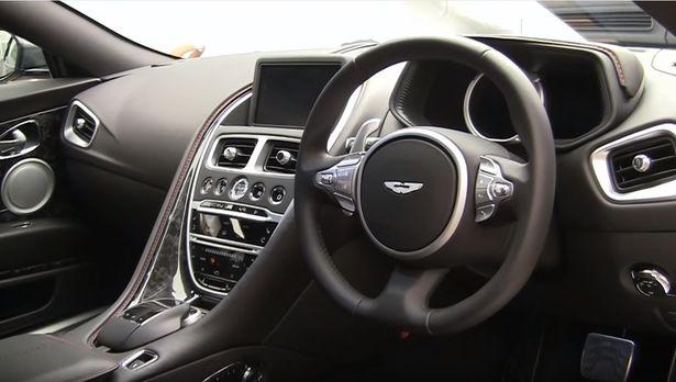 2017 Aston Martin DB11 - interior