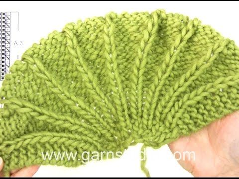 DROPS Knitting Tutorial: How to work after chart A.3 in DROPS 156-30 - YouTube