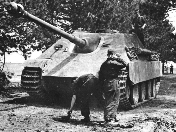Great photo of a Jagdpanther