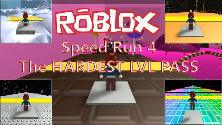 Roblox Speed Run 4 HARDEST LVL PASS STARTS FROM lvl27