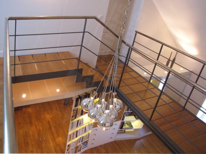 50 best images about passerelle on pinterest un metals and design - Type d escalier interieur ...