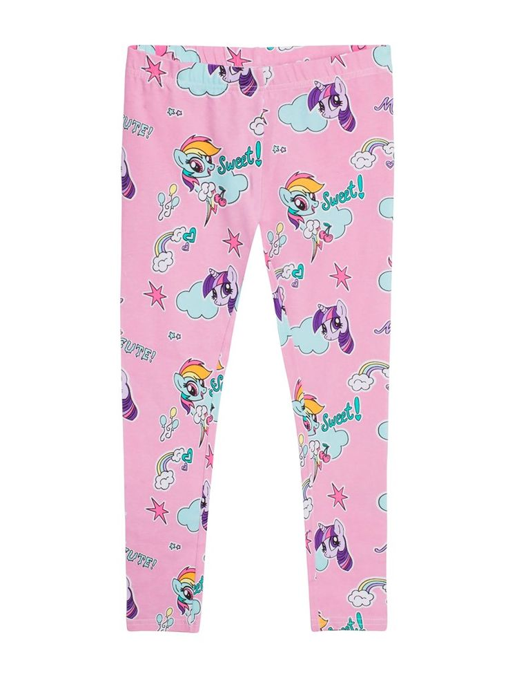 Hos KappAhl hittar du mönstrade leggings i mjuk bomullsstretch med My Little Pony-tryck. Köp online eller i butik nära dig!