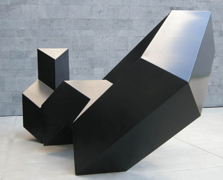 Throwback, Tony Smith, 1976, Painted Aluminum