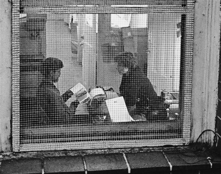André Kertész Greenwich Village, New York, 17 mars 1965