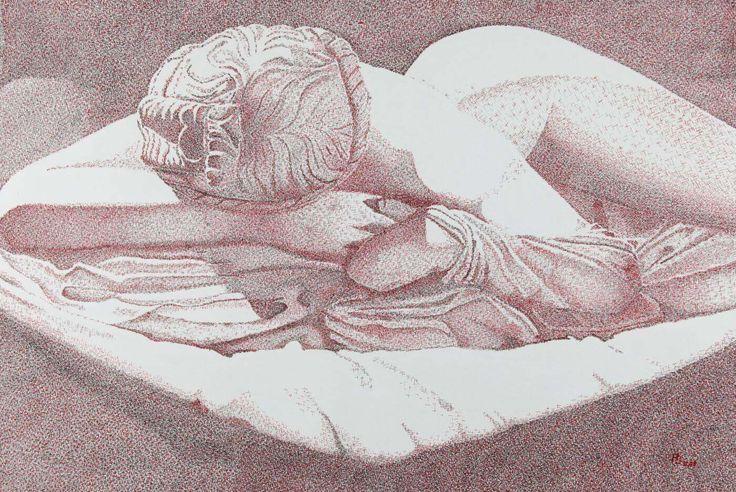 Hermaphrodit - Anette Grinda Zeichnungen