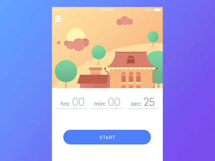 GIF for the Timeline App by Sergey Valiukh