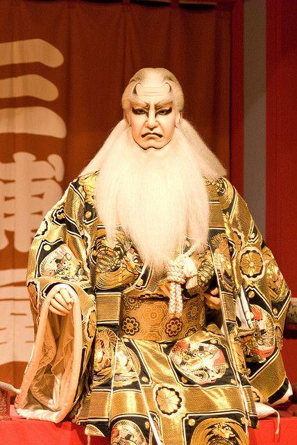 Kabuki model in Edo Museum, Tokyo