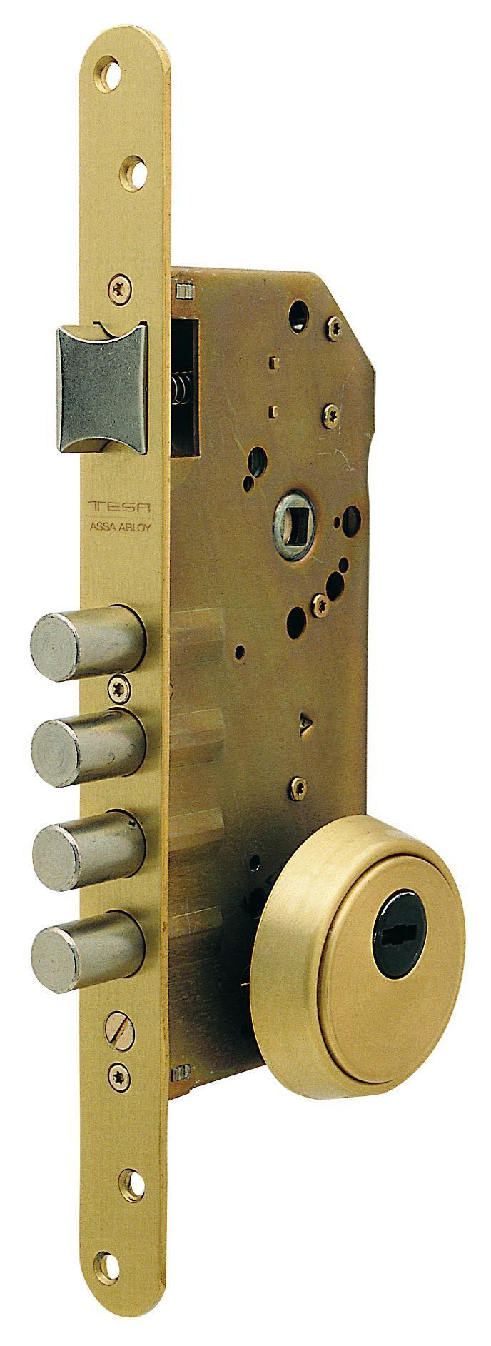 Cerradura Seguridad 1P 50mm #cerradurasseguridad #cerradurapuerta