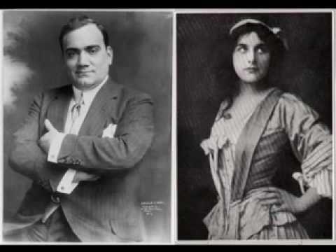 Enrico Caruso & Geraldine Farrar - O Soave Fanciulla (1912)