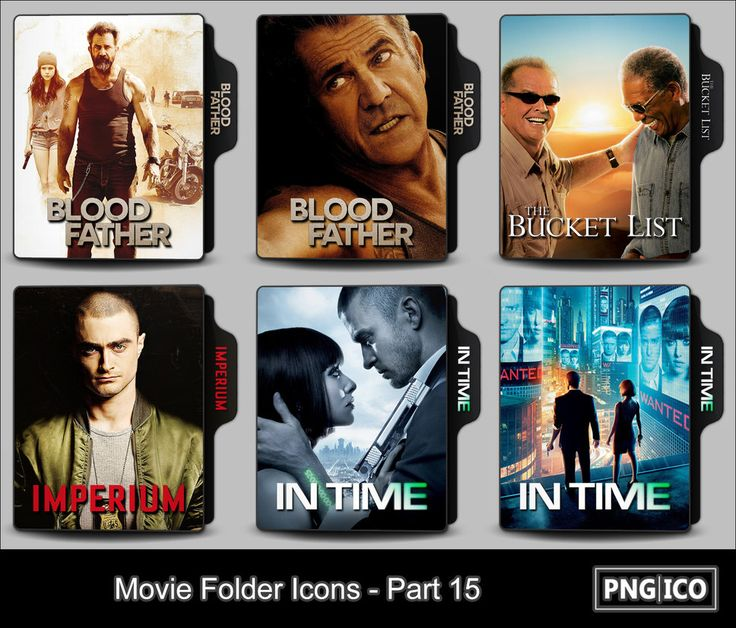 Movie Folder Icons - Part 15 by OnlyStyleMatters