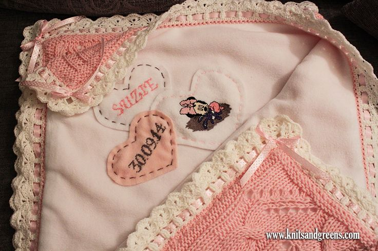 Baby Blanket Idea – Minnie Mouse And Butterflies | Knits & Greens