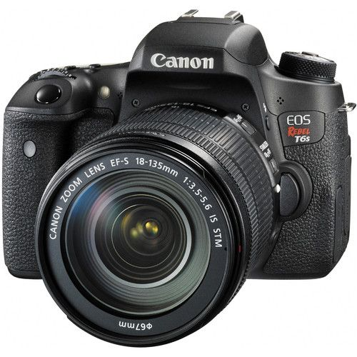 Canon EOS Rebel T6s DSLR Camera with 18-135mm Lens 0020C003 B&H