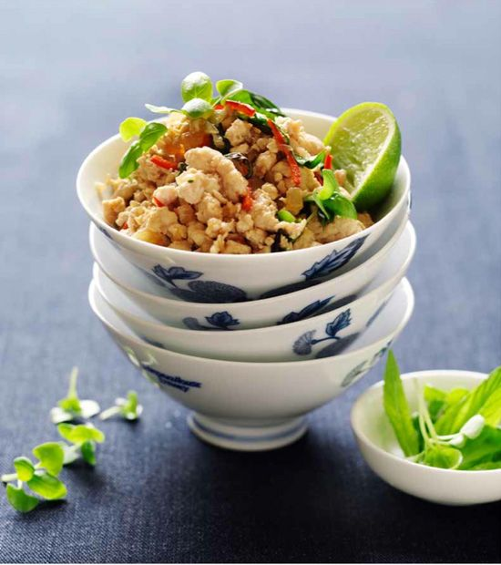 178 best market street food images on pinterest asian food this thai chicken larb recipe is a healthy idea for dinner basically stir fry chicken the recipe is healthy its a traditional thai street food forumfinder Choice Image