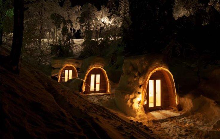 hobbiton - sauna