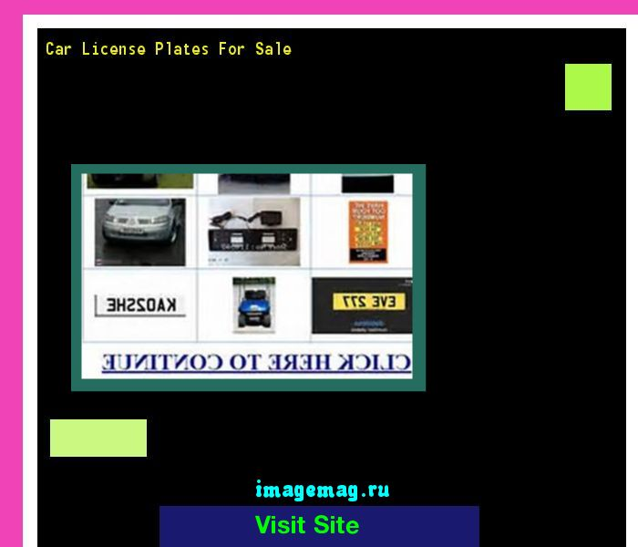 Car license plates for sale 144825 - The Best Image Search
