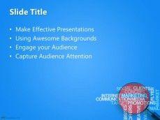 마케팅 소셜 미디어 PPT 템플릿