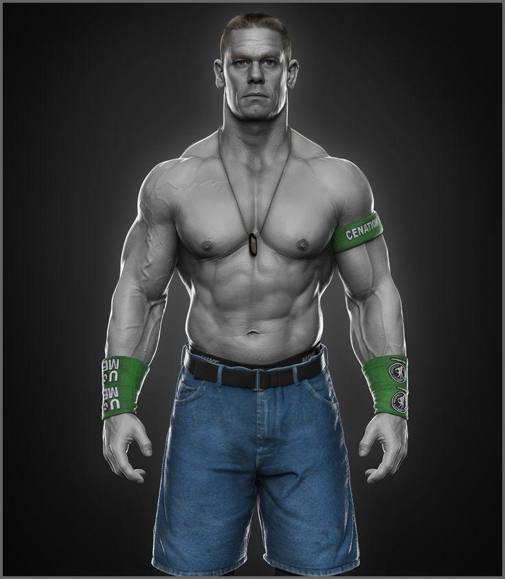 ArtStation - John Cena done for WWE, Hossein Diba