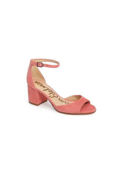 Sam Edelman suede shoes: http://www.stylemepretty.com/2017/02/13/10-pretty-in-pink-shoes-to-pair-with-your-perfect-white-wedding-dress/
