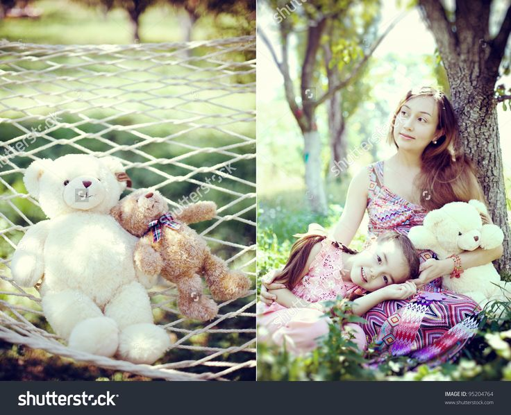 stock-photo-little-girl-lying-on-my-mother-s-knees-with-a-teddy-bear-in-the-garden-95204764.jpg (1500×1219)