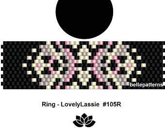 peyote ring patternPDF-Download 075R beading pattern