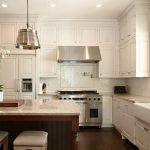 Tiled kitchen countertops kitchen traditional with dark floor range hood