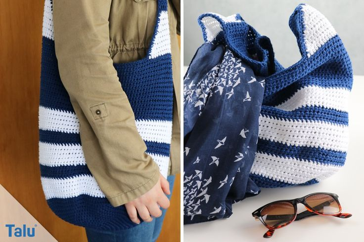 Crochet a nice bag – free instructions for beginners