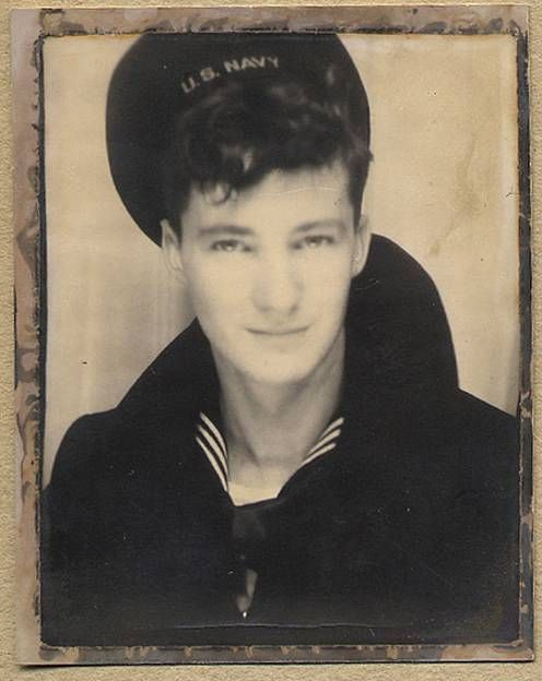 Sailor. Photo Booth-1940's. Men in Uniforms.