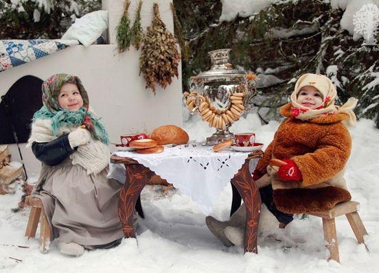 Зимняя фотосессия идеи24