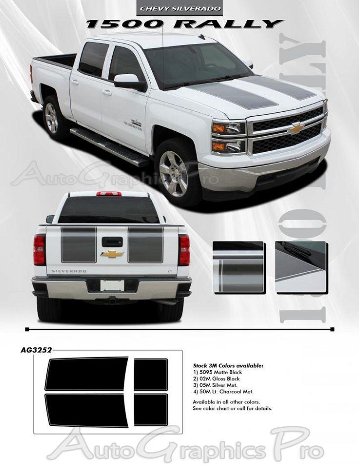 Best Silverado Images On Pinterest Chevy Trucks Chevrolet - Chevy decals for trucksmore decalchevrolet silverado rally edition unveiled