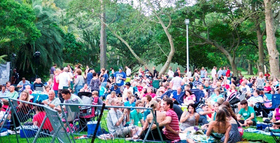 Sunday afternoon concerts at the Durban Botanic Gardens