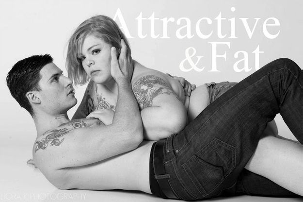 "Abercrombie said that they will not sell anything larger than a size Large for woman because it is for ""cool, attractive people"" well Jes wrote an open letter to Jeffries regarding his recent comments and included these stunning photographs of herself posing with a more typical Abercrombie-type male model."