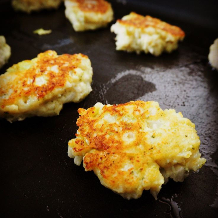 broccoli & cauliflower fritters- use oat flour instead