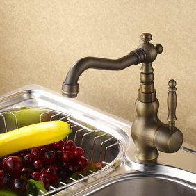 Centerset robinet de cuisine en cuivre antique R0406C