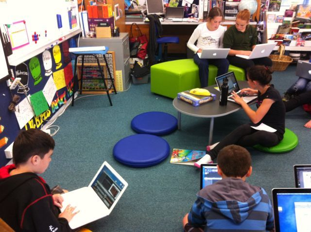 Modern Language Classroom ~ Best images about school alternative seating