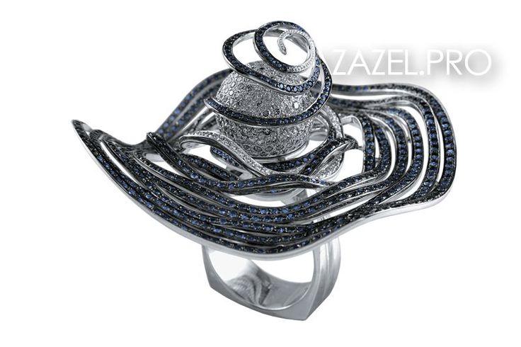 Друзья привет! Представляю Перстень с Сапфирами и Алмазами №80396VN!  Подробнее здесь: http://azazel.pro/diamond-gemstone/seal-ring-made-of-gemstone-diamond.html#80396vn  #ring #перстень #сапфир #sapphire #украшения #jewellery