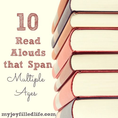 Read Alouds that Span Multiple Ages