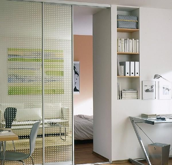 Best 25 partition walls ideas on pinterest partition - Interior doors for small spaces plan ...