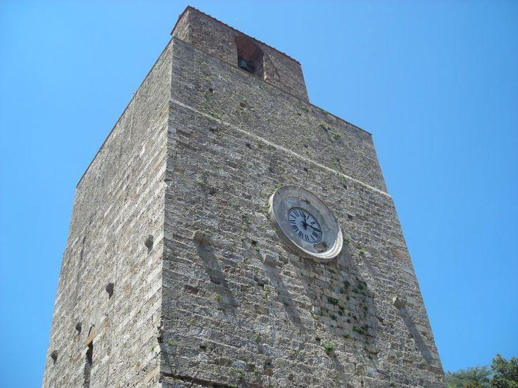torre del candeliere, Massa Marittima