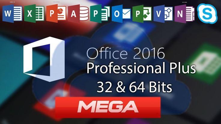 Descargar e instalar Office 2016 + Activador