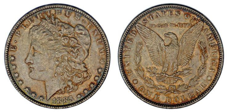 1 SILVER US DOLLAR/1 DÓLAR MORGAN. PHILADELPHIA-FILADELFIA. 1885. XF-/EBC-.