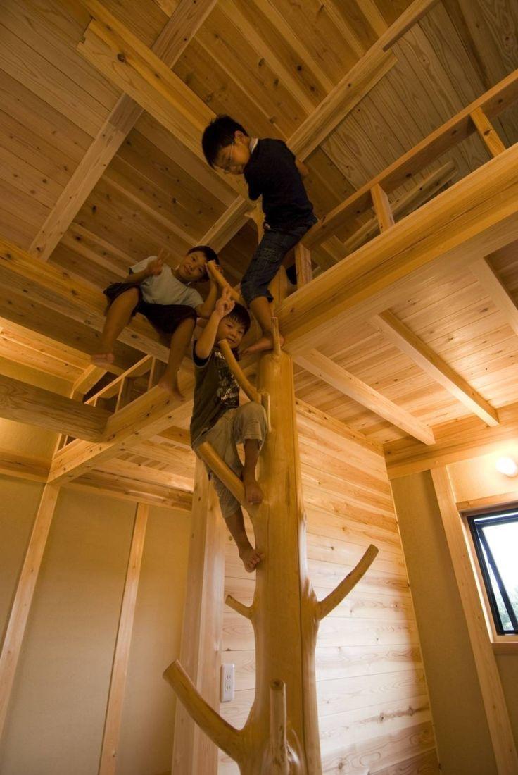 宇野総合計画事務所 の オリジナルな 子供部屋 ロフト付子ども部屋