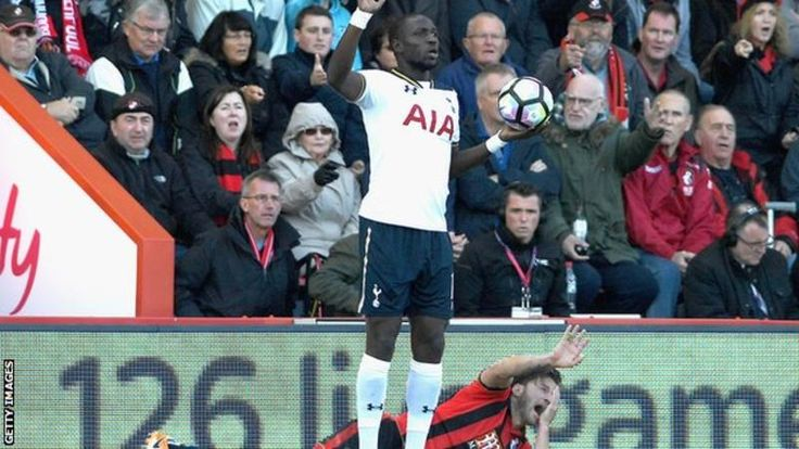 Spurs midfielder Moussa Sissoko will be banned for three matches for elbowing Bournemouth's Harry Arter - missing the north London derby with Arsenal. via @BBCSport  #footballplanetcom #tottenham #sissoko