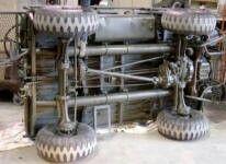 Mechanical mule m274 underside chassis layout M274 Mule