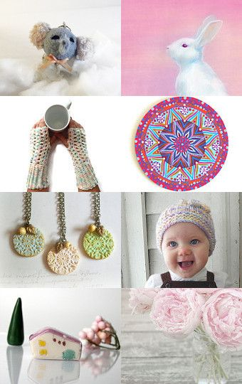 Pastel pink  by Lisa P on Etsy--Pinned with TreasuryPin.com