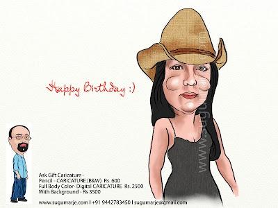 Birthday Caricature :)