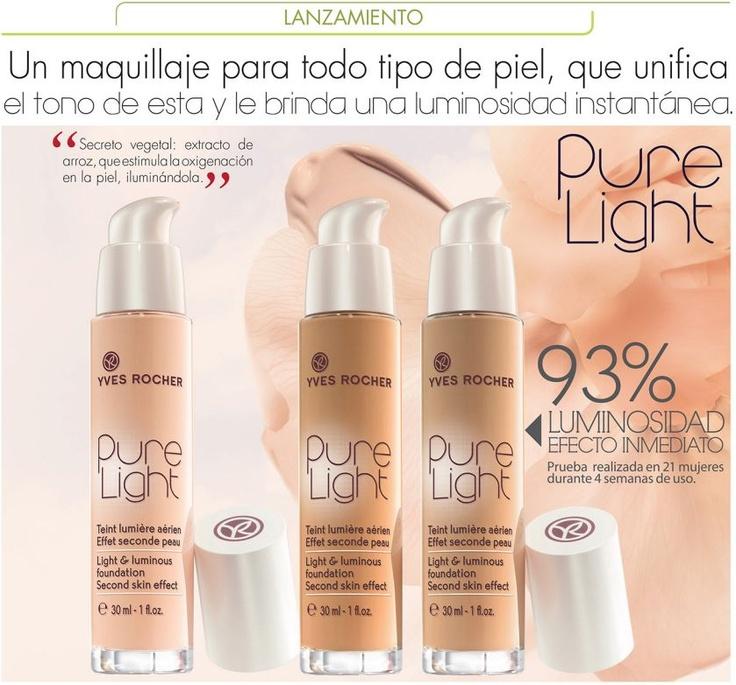 Maquillaje Pure Light