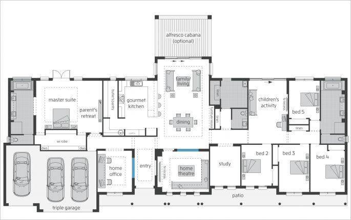 Bronte farmhouse grand manor floor plan exterior and for Manor farm house plan