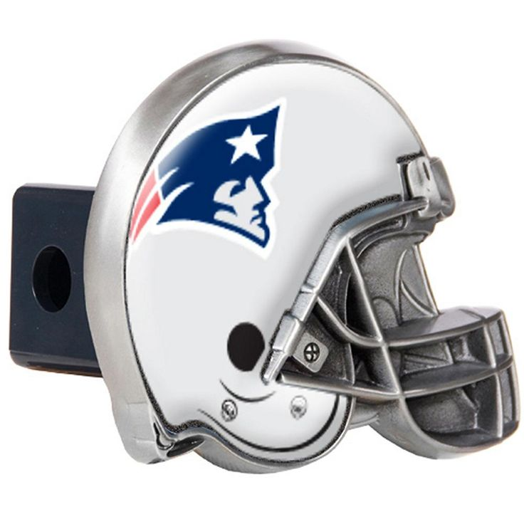 New England Patriots Football Helmet Trailer Hitch Cover