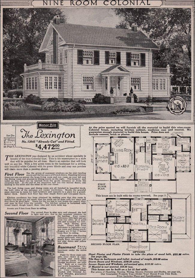 Sears Roebuck Kit Houses, 1923 | Retronaut